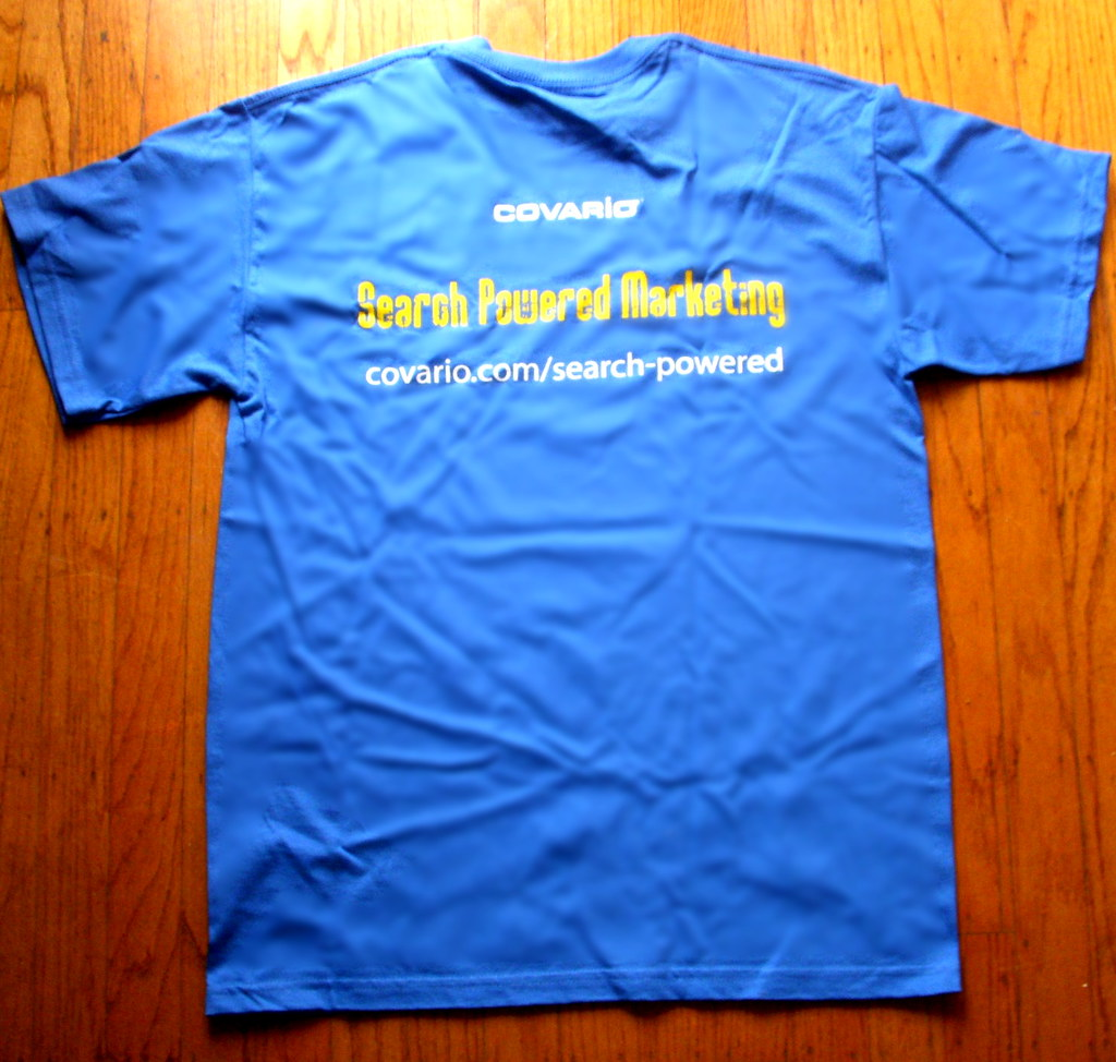 Covario's Search Powered Marketing T-Shirt
