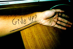 Giving up. is it worth it? (Fishy Joe 3) Tags: mood arm cut suicide question depression wrist givingup wristcutterhand