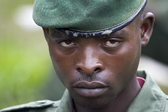 Congo Rebel (babasteve) Tags: portrait soldier rebel eyes congo drc babasteve killereyes steveevans