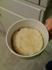 Finished pot pie