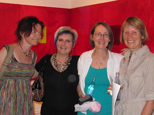 Veronica Caven Aldous exhibition opening 005
