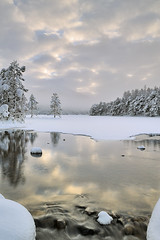 Before the Light, Cold - Loch An Eilean, Cairngorm, Scotland (cedric_g) Tags: trees winter cloud snow landscape scotland nikon loch hitech cairngorm lochaneilean nikond3