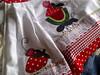 pano de prato e bate mão (Dipano Ateliê) Tags: de galinha pano patchwork prato cozinha jogos tecido aplicação apliqué dipano