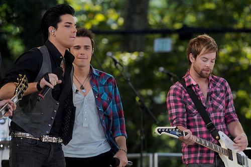 Adam Lambert, Kris Allen, David Cook