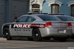 Madison, Indiana Police Car (SpeedyJR) Tags: police indiana emergency dodgecharger policecars emergencyvehicle madisonindiana speedyjr