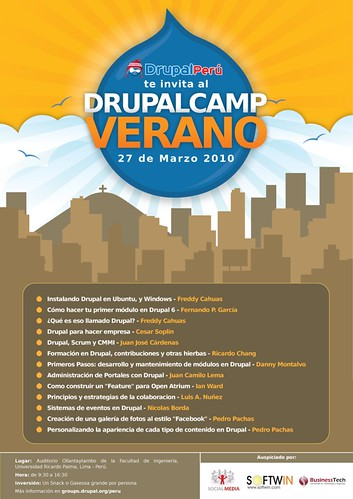 Drupalcamp Verano 2010