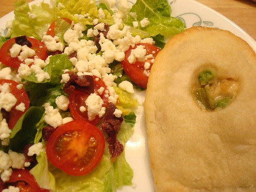 Chicken Pot Pie and Salads