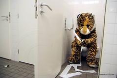 tijger wc