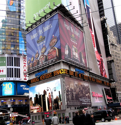 KU in Times Square