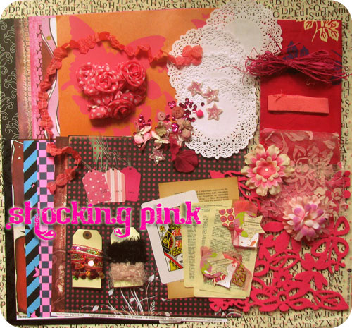 Kit Shocking Pink