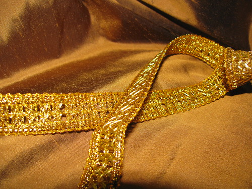 Copper Silk and Trim