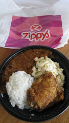 Chili and chicken combo from Zippy's