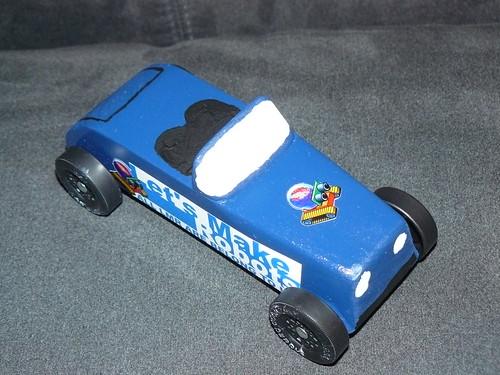 LMR Pinewood Derby Car