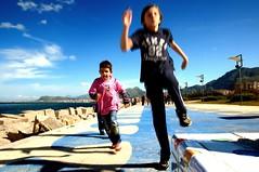 Palermo - Passeggiata della Marina (studiolof) Tags: street primavera marina bambini corse sicily sole palermo sicilia foroitalico rosarioloforti fotoloforti