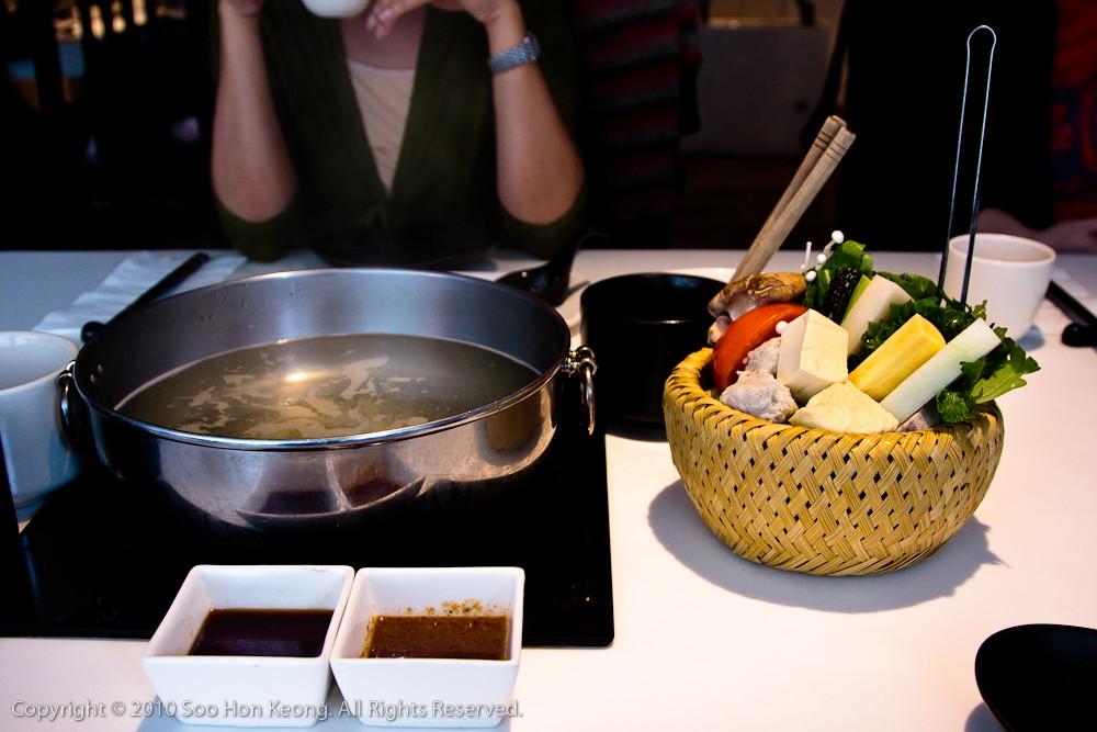 Qimin Organic HotPot @ Taipei, Taiwan