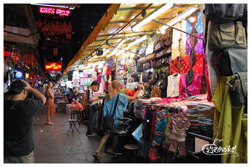 bangkok shopping - patpong