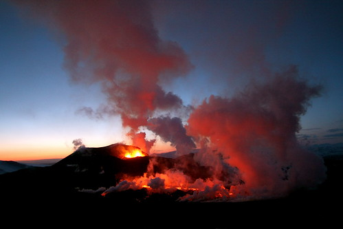uitbarsting vulkaan