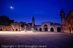 Wazir Khan Mosque - Moonlight (Armughan-) Tags: night geotagged airport nikon minaret aviation jfk airbus moonlight boeing calligraphy islamicarchitecture gp1 mughalarchitecture wazirkhanmosque masjidwazirkhan aviationphotos nikond700 lahoremosque mosquephoto 1635mmvr mosquestockphotos nightshotofamosque pakistanmosques mosquecolors
