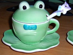 Frog Tea Set - Boy
