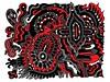 Doodle 1/8/2010 (Daily Doodles) Tags: blackandwhite abstract art modern illustration painting poster graffiti design sketch artwork 60s folkart outsiderart bright drawing mixedmedia abstractart contemporaryart contemporary vibrant modernart surrealism vivid doodle zen 70s surrealist meditation sharpie psychedelic linedrawing penandink surrealart artprint redart colorfulart dailydoodles surrealistart zentangle doodledrawing