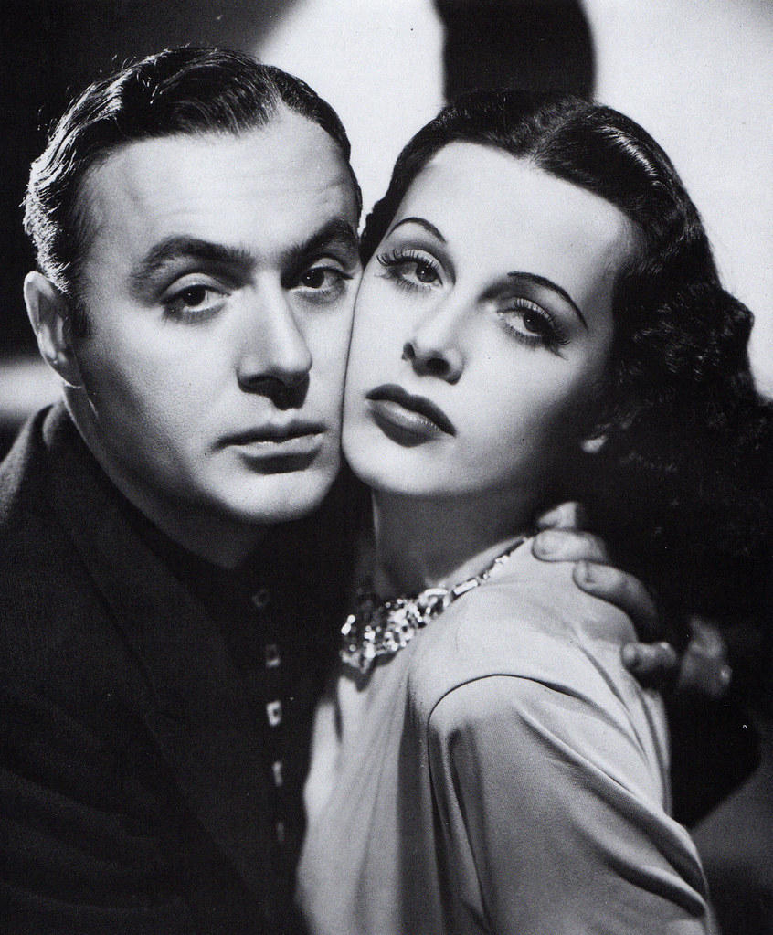 Charles Boyer and Hedy Lamarr