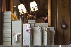 Paris - Ladure Macaron Boxes (aurora_design) Tags: food paris france cakes cafe delicious patisserie colourful luxury macaroons ladure