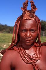 Himba Woman (Peter Schnurman) Tags: namibia opuwo himbawoman