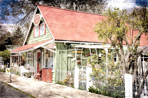 Apple Rose cottage {explored!}