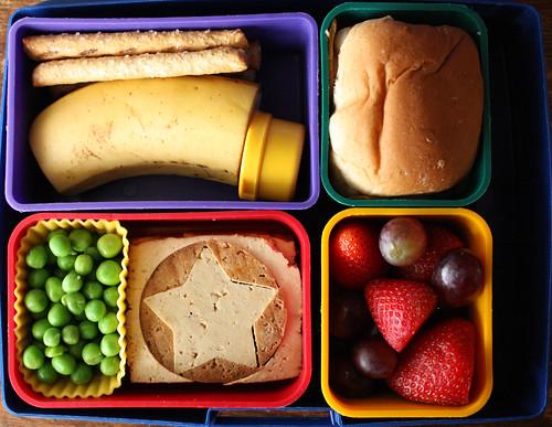 Kindergarten Bento #311: April 13, 2010
