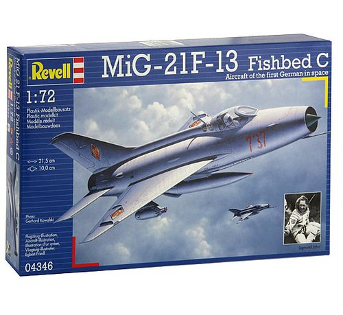 [Concours pinceaux] Mig 21 F-13 Fishbed C [Revell 1/72] 4539058760_7eb0491afb_d