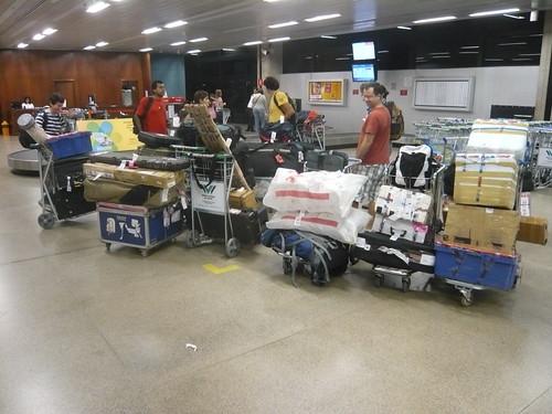 Equipamento de campo, Aeroporto de Confins, Belo Horizonte