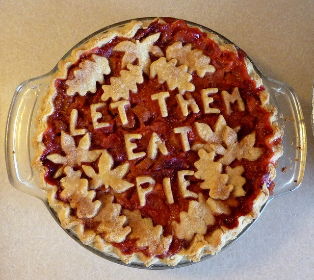 Let Them Eat Pie - Strawberry/Rhubarb
