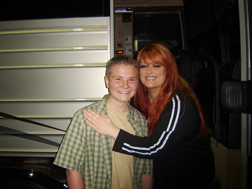 Jacob Nelson and Wynonna Judd