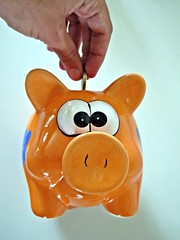 Coins in Piggy Bank by Images_of_Money, on Flickr