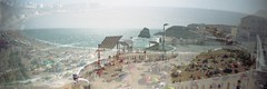 em algum(ns) lugar(es) de Portugal... (asleeponasunbeam) Tags: beach portugal freeassociation lomo exposure double fa sprocketrocket