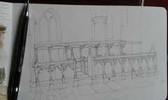 Church Choir Stalls (WIP)