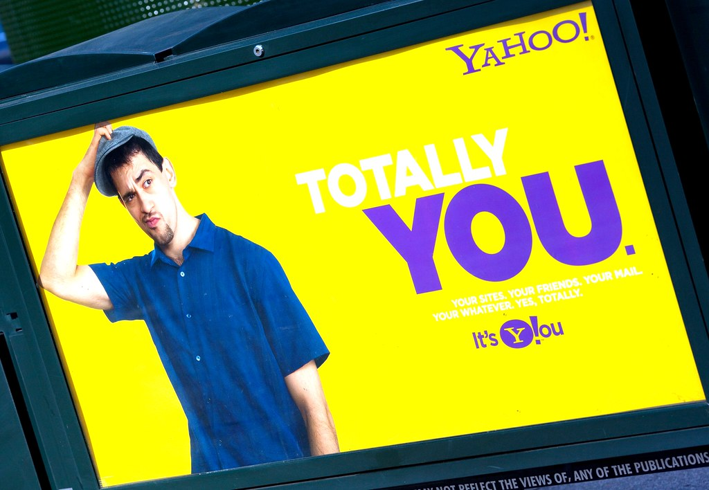 Yahoo!  Totally You = Totally Screwed