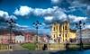 Piata Unirii - Timisoara (AragianMarko) Tags: plaza color photoshop lab raw catholic adobe romania dome lightpoles unionsquare hdr timisoara banat cs3 catolic timis piataunirii photomatix 5exp temisvar micavienna temeshvar catedralasfântulgheorghe