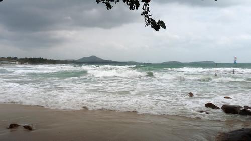 Koh Samui chaweng beach south end コサムイ チャウエンビーチ南端1