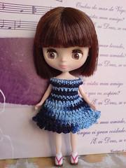 Petite Blythe Chic blue Matiz