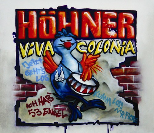 Viva Colonia Hitsingle Coverartwork by SEAK