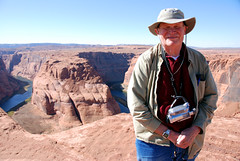 Mike, Horseshoe Bend, Colorado River, Page, Arizona (wgmoore51) Tags: arizona page coloradoriver horseshoebend