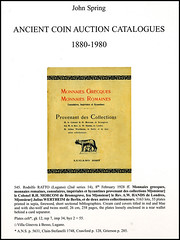 Spring Ancient Coin Auction Catalogs 1880-1980 b
