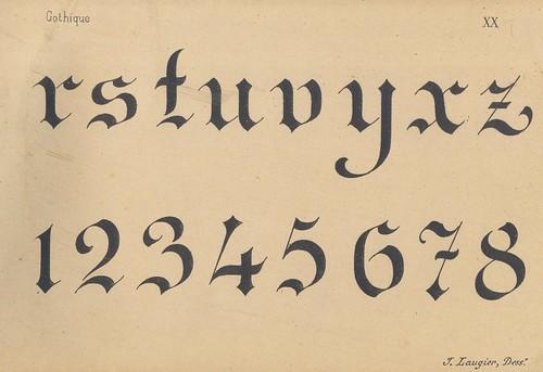 peintre lettres alphabets 2 p20