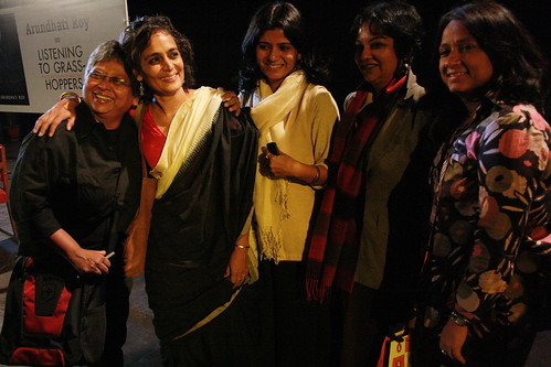 City Sighting - Arundhati Roy, Jamia Millia Islamia