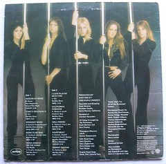 THE RUNAWAYS Vintage LP Record Vinyl Album Back Cover Cheri Currie Joan Jett LITA FORD 1977 (Christian Montone) Tags: music vinyl lps runaways joanjett vintagevinyl vintagerecords litaford vintagegraphics vintagealbums vintagealbumcovers