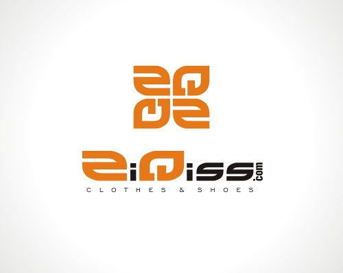 ZiQiss Clothes Shoes Logo Design