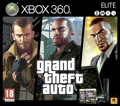 XBOX 360 Elite GTA IV (Iv4nSVK) Tags: auto from city gay 120 lost liberty rockstar 4 grand xbox 360 games tony elite microsoft johnny gb fernando luis lopez bundle gta nico theft iv ballad damned the episodes 120gb of bellic klebitz eflc