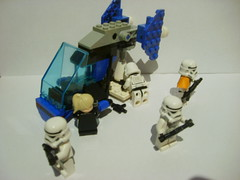 15_ Custom Trooper Transport-armed (Alexander's Lego Gallery) Tags: light storm trooper bike rebel star ship desert lego space luke battle walker solo darth empire saber jedi stormtrooper anakin spaceship lightsaber wars vader vulture clone pilot sith han droid speeder chewbacca leia blaster skywalker rebels galactic organa speederbike