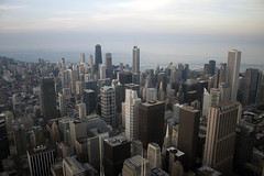 Cityscape (-Passenger-) Tags: chicago building america cityscape searstower united north states tallest willistower